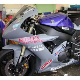 Carénage en 2 parties Yamaha R1 02-03