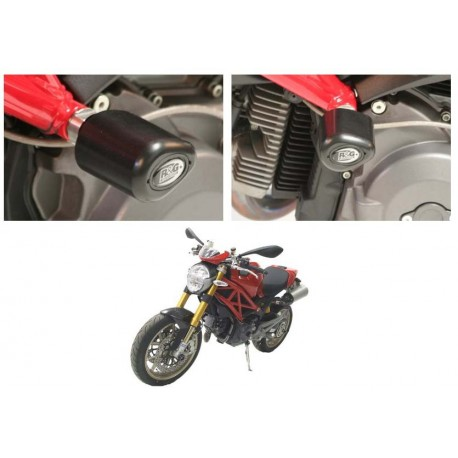 Tampons de protection Ducati R&G Racing Monster 696 796 1100