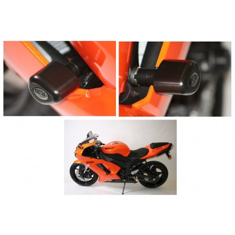 Tampons de protection Kawasaki R&G Racing ZX6R 2007-2012