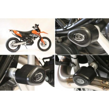 Tampons de protection KTM R&G Racing 690 Enduro SMC