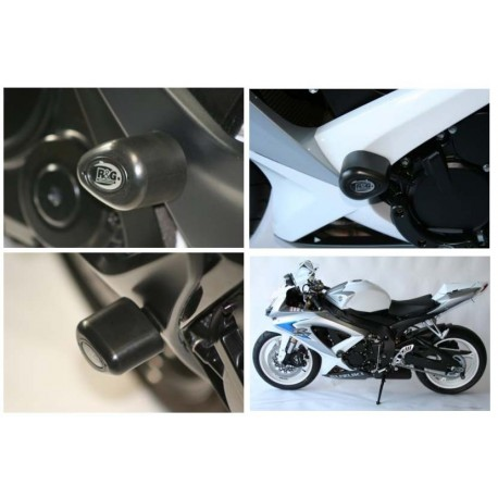 Tampons de protection Suzuki R&G Racing GSXR 600 750 2006-2010