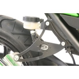 Support de silencieux Kawasaki R&G Racing simple