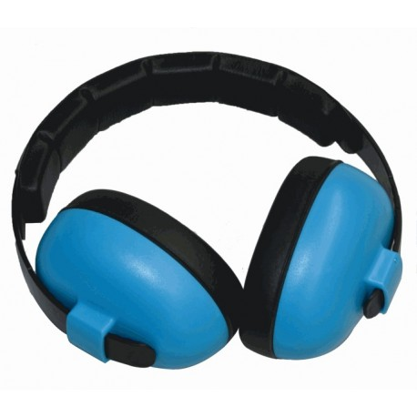 Casque anti-bruit 3 mois à 3 ans bleu