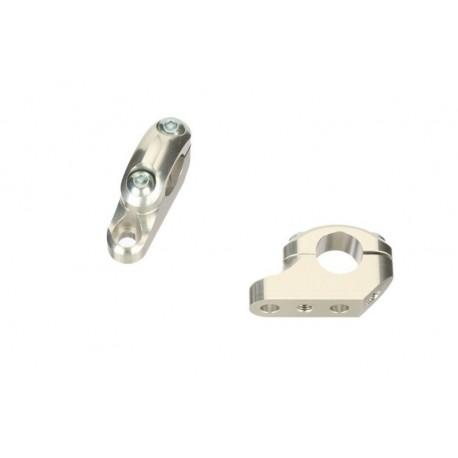 Pontets de guidon décallés ABM double vis diamètre 22,15mm