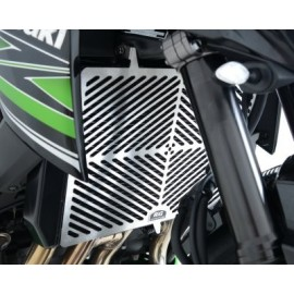 Grille de radiateur Kawasaki inox R&G Racing