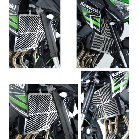 Grille de radiateur Kawasaki inox R&G Racing Z800