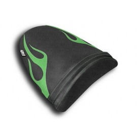 Housse passager ZX6R 03-04 Flame Cuir