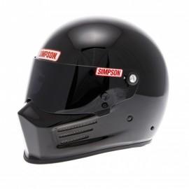 Casque Simpson Bandit noir brillant profil