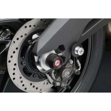Tampons de protection de bras oscillant Rizoma Ducati 2 montés