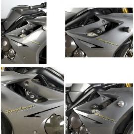 Tampons de protection Triumph Race R&G Racing