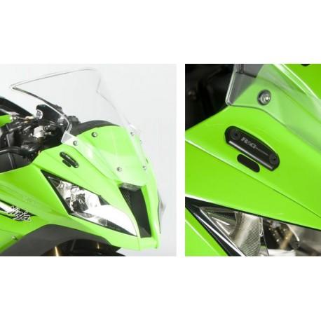 Obturateurs de rétroviseurs R&G Racing Kawasaki