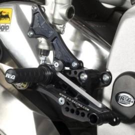 Commandes reculées Aprilia R&G Racing