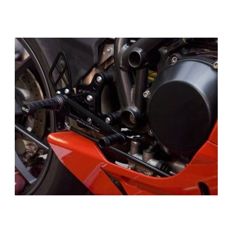 Commandes reculées Ducati R&G Racing