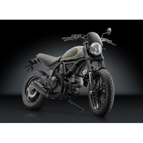 Saute vent Rizoma Ducati Scrambler monté 1