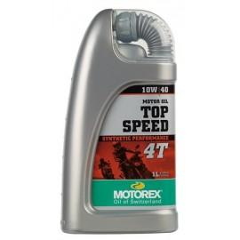 Huile moteur Top Speed Motorex