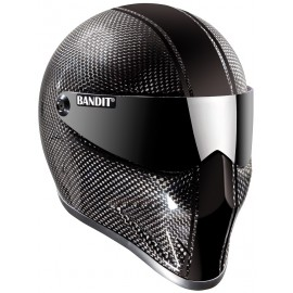 Casque Bandit Helmets Crystal Race Carbone