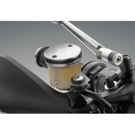 Couvercle de réservoir de fluide de frein avant Rizoma TP016G monté