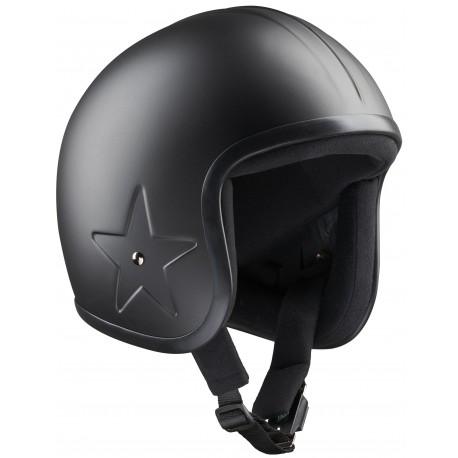 Casque Bandit Helmets Sky Jet 3 avec étoile gravée