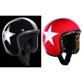 Casques Bandit Helmets Star Jet noir ou rouge