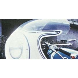Bulle racing incolore pour Carénage 404 BMW R50 R69