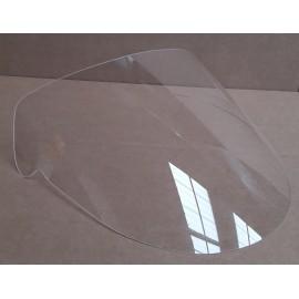 Bulle racing incolore Mito 125 vue profil droit