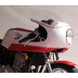 Tête de fourche type Café Racer sur Honda CB 500