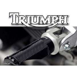 Adaptateurs pilote Triumph pour reposes pieds Rizoma