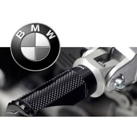 Adaptateurs pilote BMW pour reposes pieds Rizoma