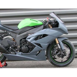 Carénage en 2 parties ZX6R 09-13
