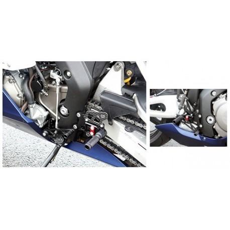 Commandes reculées Honda LSL multi-positions CBR 1000 RR 2004-2007