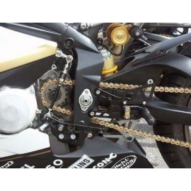 Commandes reculées Triumph Racing LSL multi-positions