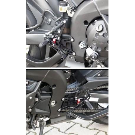 Commandes reculées Yamaha LSL multi-positions R1 2004-2006