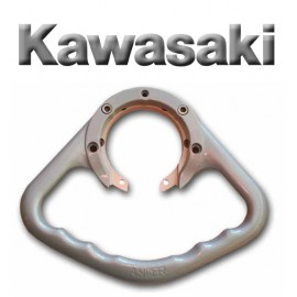 Poignées passager Kawasaki aluminium