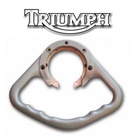 Poignée passager Triumph aluminium