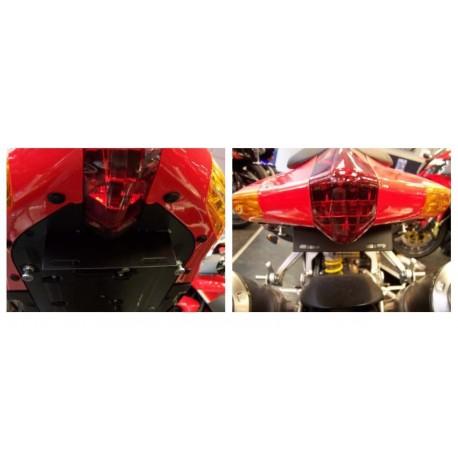 Supports de plaque Aprilia R & G Racing RSV1000 Tuono 2004-2009