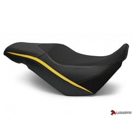 Housse complète V-STROM 650 2017-2018 Styleline noir et jaune