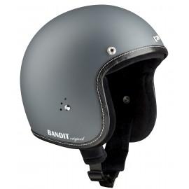 "Casque Bandit Helmets Jet Original gris ""Mat"""