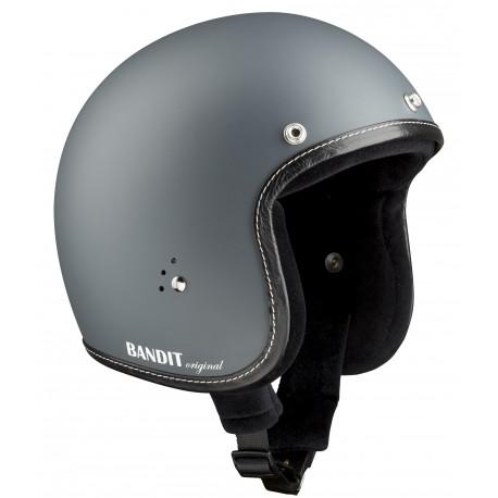 "Casque Bandit Helmets Jet Original gris ""Terne"""