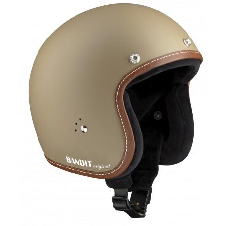 """Casque Bandit Helmets Jet Original Sandy """"Sable"""""""
