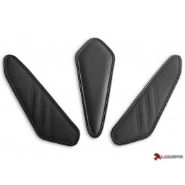 Tank Leaf Honda CB500F et CBR500R 16-18 complet coutures noir