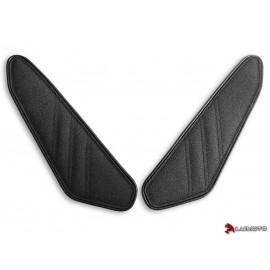 Tank Leaf Honda CB500F et CBR500R 16-18 latéraux coutures noir