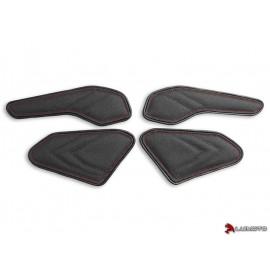 Tank Leaf Honda CBR1000RR 17-18 latéraux coutures rouge