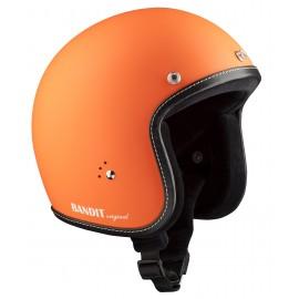 Casque Bandit Helmets Jet Original Orange mat