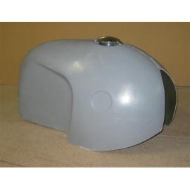 Cache réservoir polyester type BMW R50 R69 vue profil droit