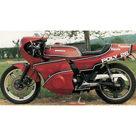 Carénage en 2 parties montage sur Honda CB 750 F2