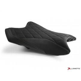 Housse pilote ZX6R 2019 Diamond coutures verte
