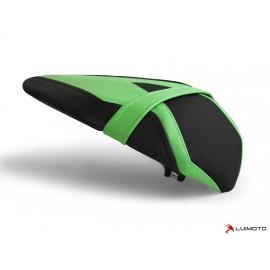 Housse passager ZX6R 2019 Race noir bandes verte