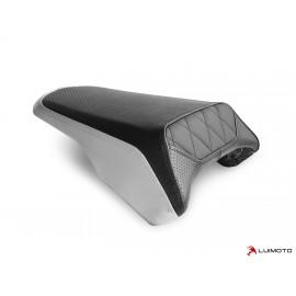 Housse passager CB300 R 18-19 Diamond arrière couleur aluminium