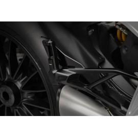 Adaptateurs passager Ducati PE718 pour reposes pieds Rizoma