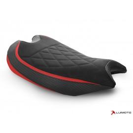 Housse pilote Panigale V2 2020 Diamond Sport noir rouge